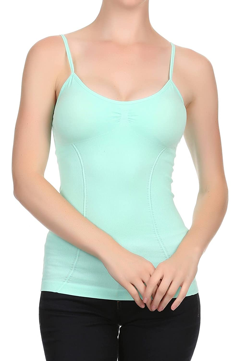Nophat Womens Slimming Control Padded Cami With Adjustable Straps ...
