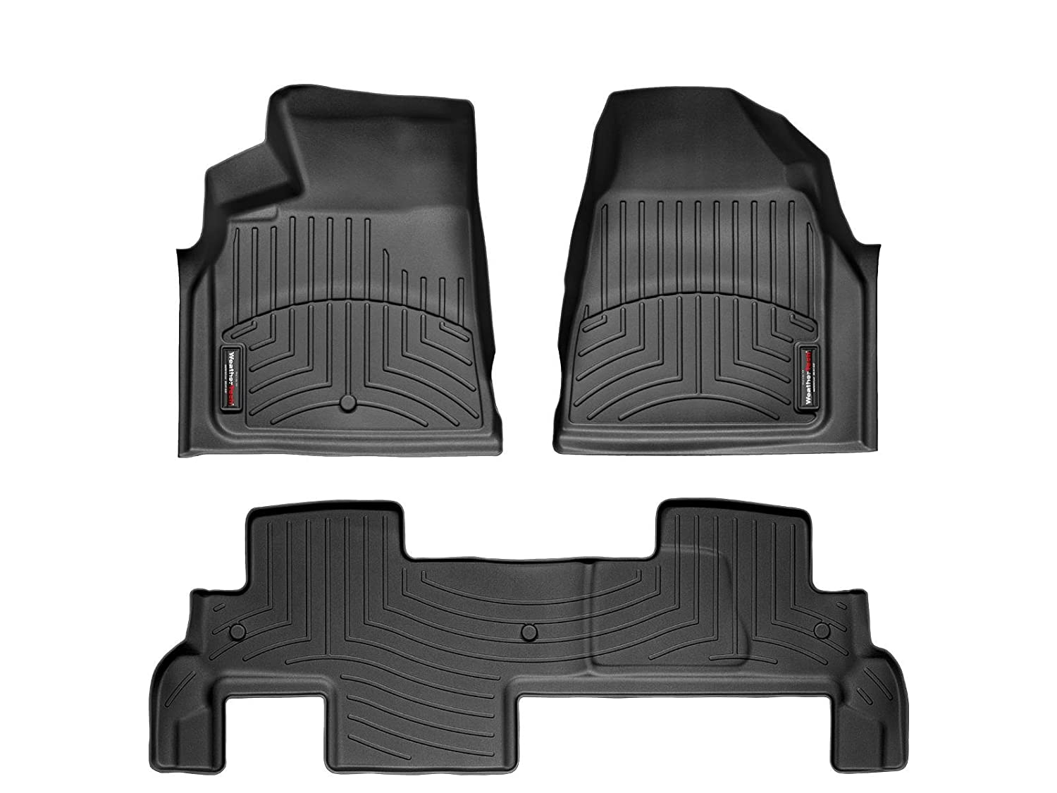 2014 bmw x3 weathertech floor mats - Amazon Com 2009 2016 Chevrolet Traverse Black Weathertech Floor Liner Full Set 1st 2nd Row Bench Seating Automotive