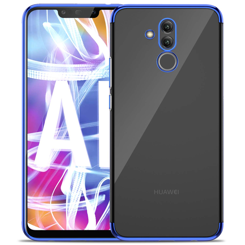 Huawei Mate 20 lite case, KuGi Huawei Mate 20 lite case, [Shock/Scratch Absorption Protection] Ultra-Thin Flexible Rubber Soft TPU Bumper Case for The ...