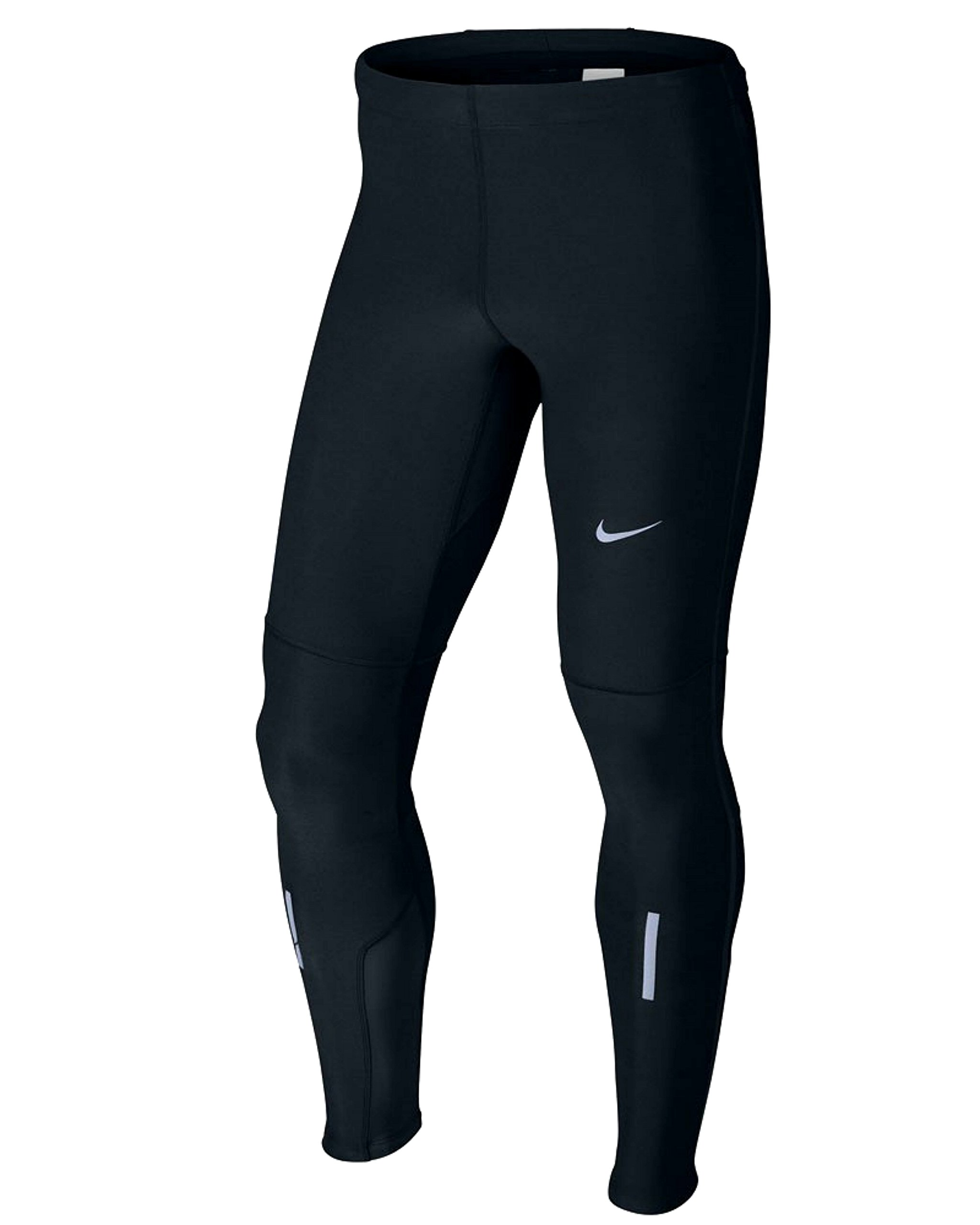 Nike Mens Dri-Fit Tech Running Tights-Black (X-LARGE, BLACK)