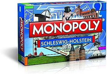 Winning Moves 4018 7 - Monopoly (edición regional Schleswig-Holstein) [Importado de Alemania] , color/modelo surtido: Amazon.es: Juguetes y juegos