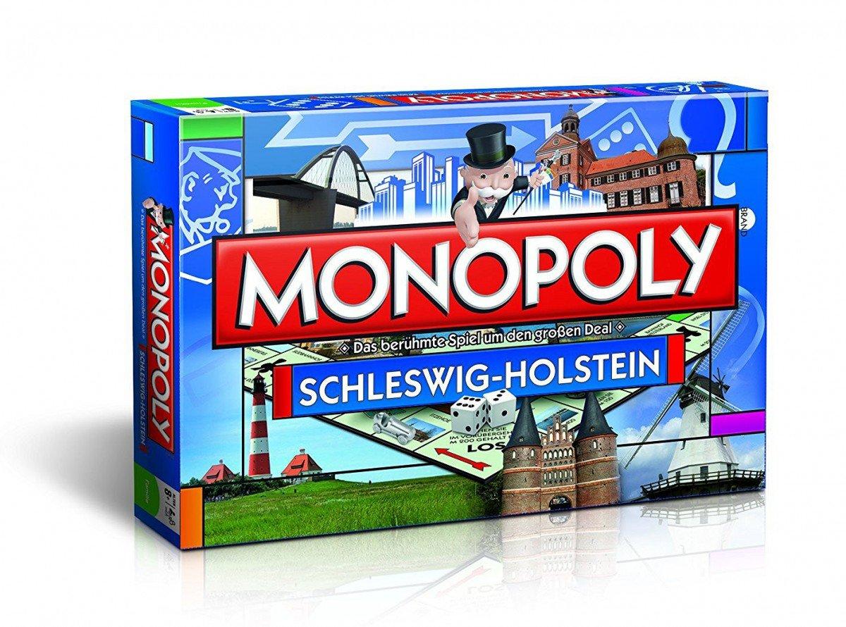 Monopoly um Schleswig-Holstein Edition - Das berühmte Spiel um Monopoly den großen Deal! 658243
