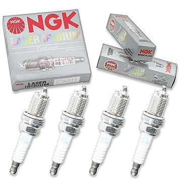 NGK tóner 4pcs de iridio Bujías Honda CR-V 02 - 09 2.4L L4 Kit Set Tune Up: Amazon.es: Coche y moto