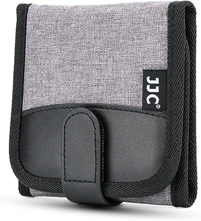 Jjc Filtertasche Mit 3 Fächern Für Filter Bis Ø 82mm Kamera