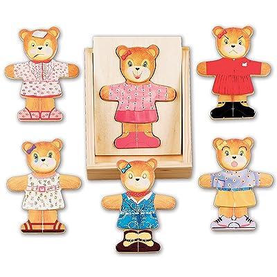 Melissa & Doug Bear Dress-Up: Melissa & Doug: Toys & Games