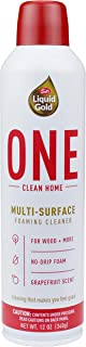 product image for Scott's Liquid Gold ONE Clean Home | Multi Surface Foaming Cleaner | Works on All Types of Hard Surfaces | Non-Toxic Formula is Safe for People, Pets and the Planet | Fresh Grapefruit Scent |12 Oz