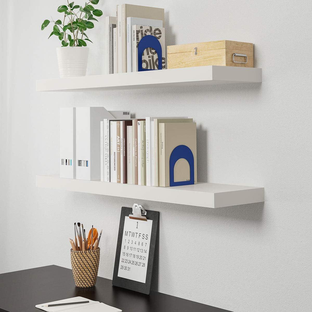 IKEA LACK Estante de pared blanco (26x110cm) con herrajes de ...