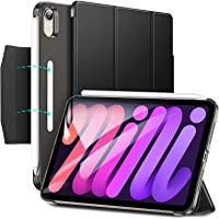 ESR Fodral kompatibelt med iPad Mini 6 (8,3 tum, 2021), smart fodral med trippelstativ, magnetiskt lås, automatisk sov…