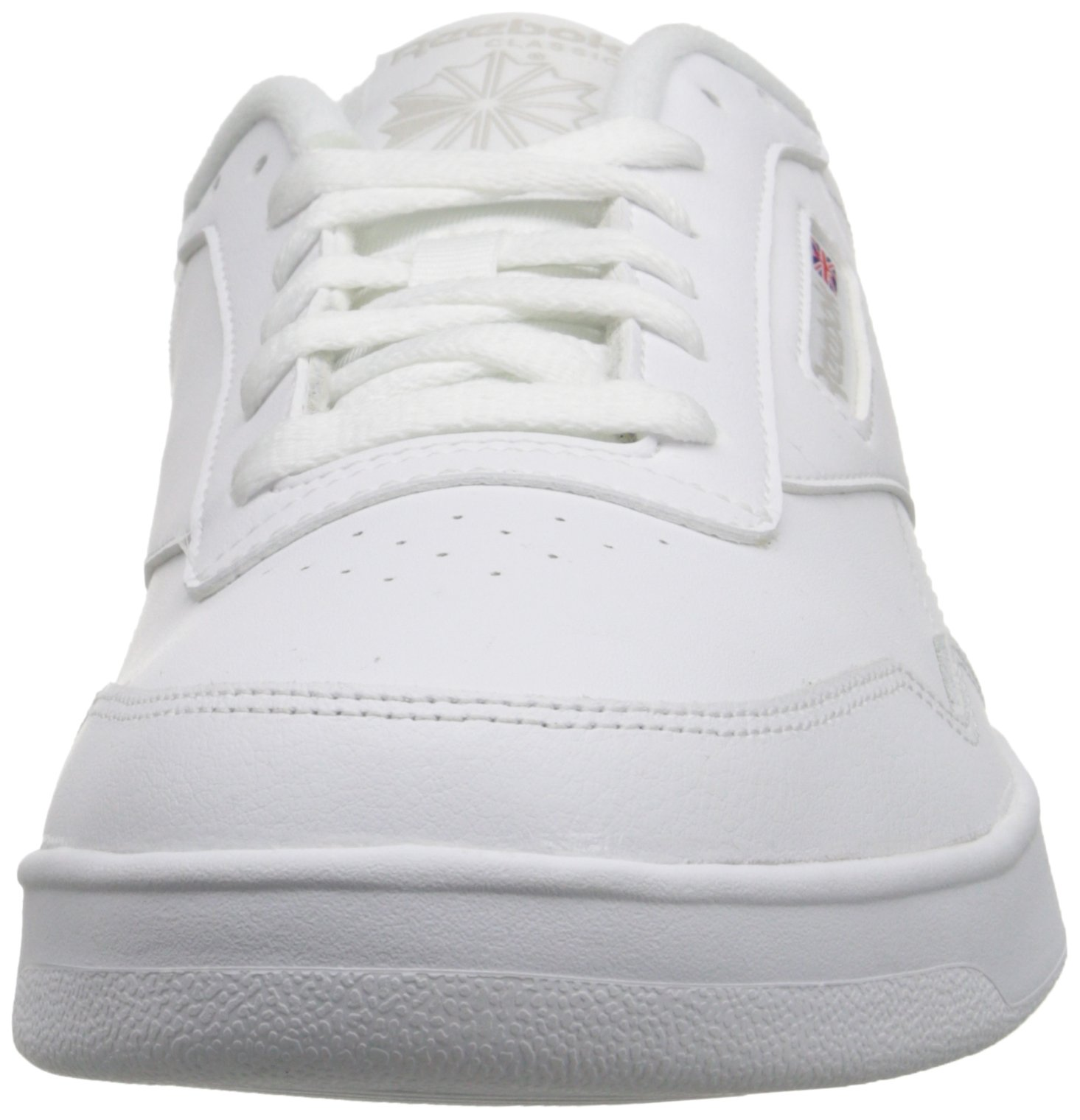 Reebok Men's Club Memt Fashion Sneaker, White/Steel, 9 4E US