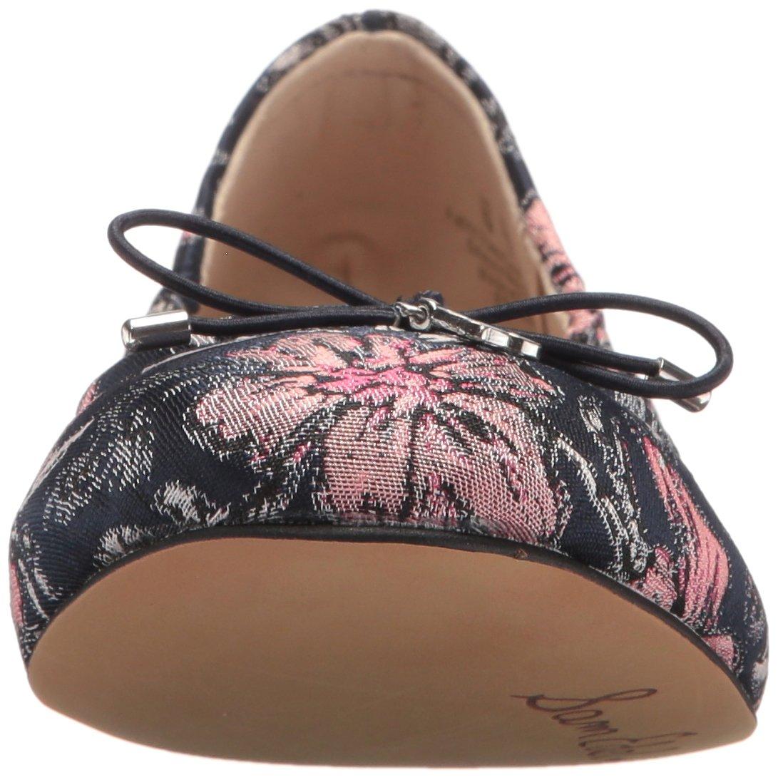 Sam Edelman Women's 5 Felicia Ballet Flat B071XF66S9 5 Women's B(M) US|Navy Multi/Secret Garden Jacquard bd4505