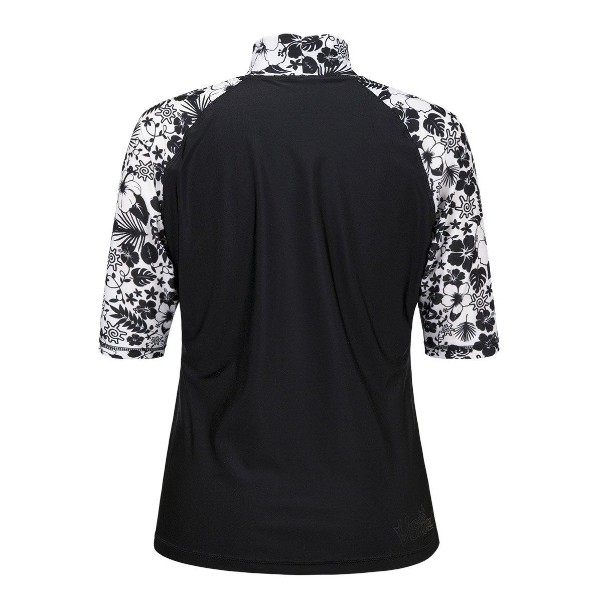 Aloha Short Sleeve Sun and Swim Shirt Sun-Blocking Shirt 040308 UV SKINZ Women/'s UPF 50