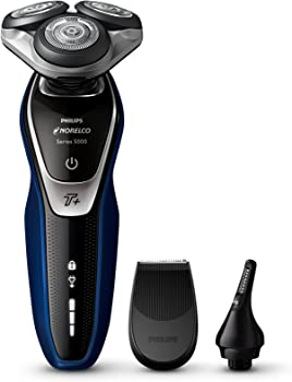 Philips Electric Shaver w/Turbo+ mode & Nose + Ear Trimmer