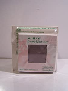 Almay Pure Blends Loose Finishing Powder, Translucent Shimmer, 0.28-Ounces