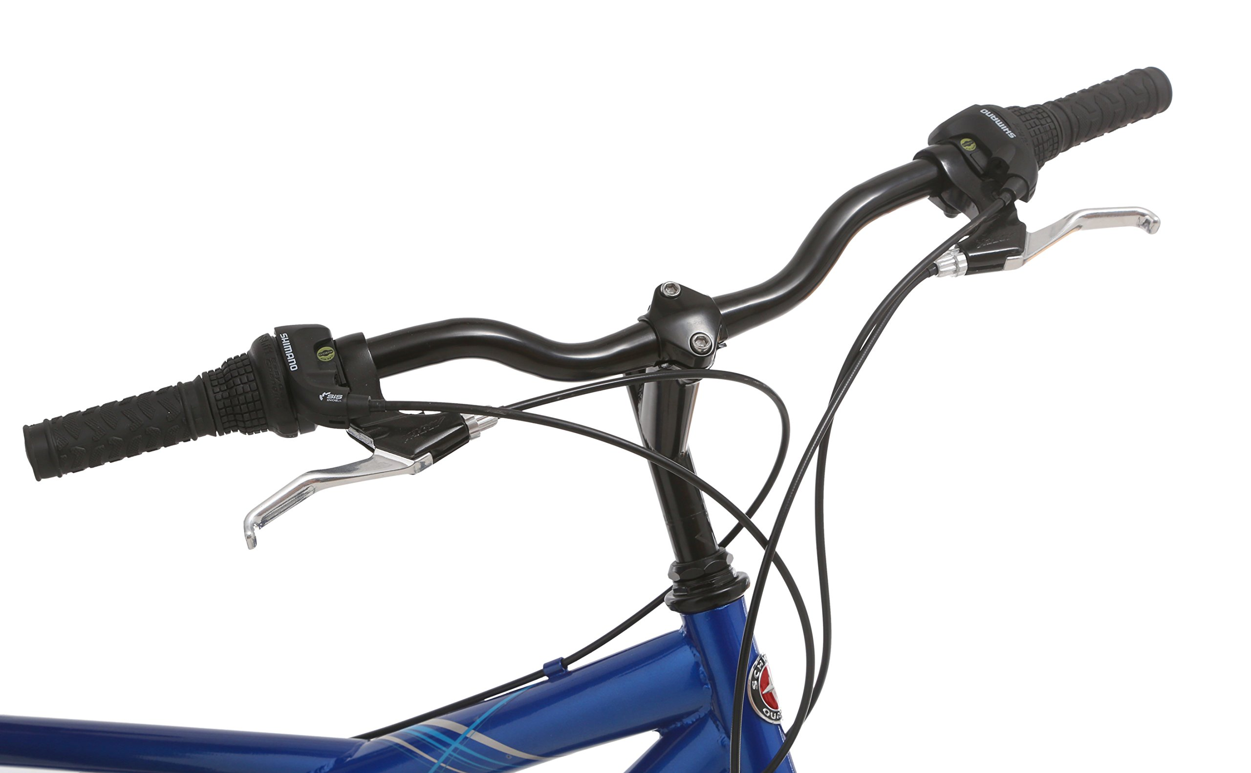 Pacific Dualie Tandem Bicycle w/ 26inch Wheels,Blue, One Size by Pacific (Image #7)