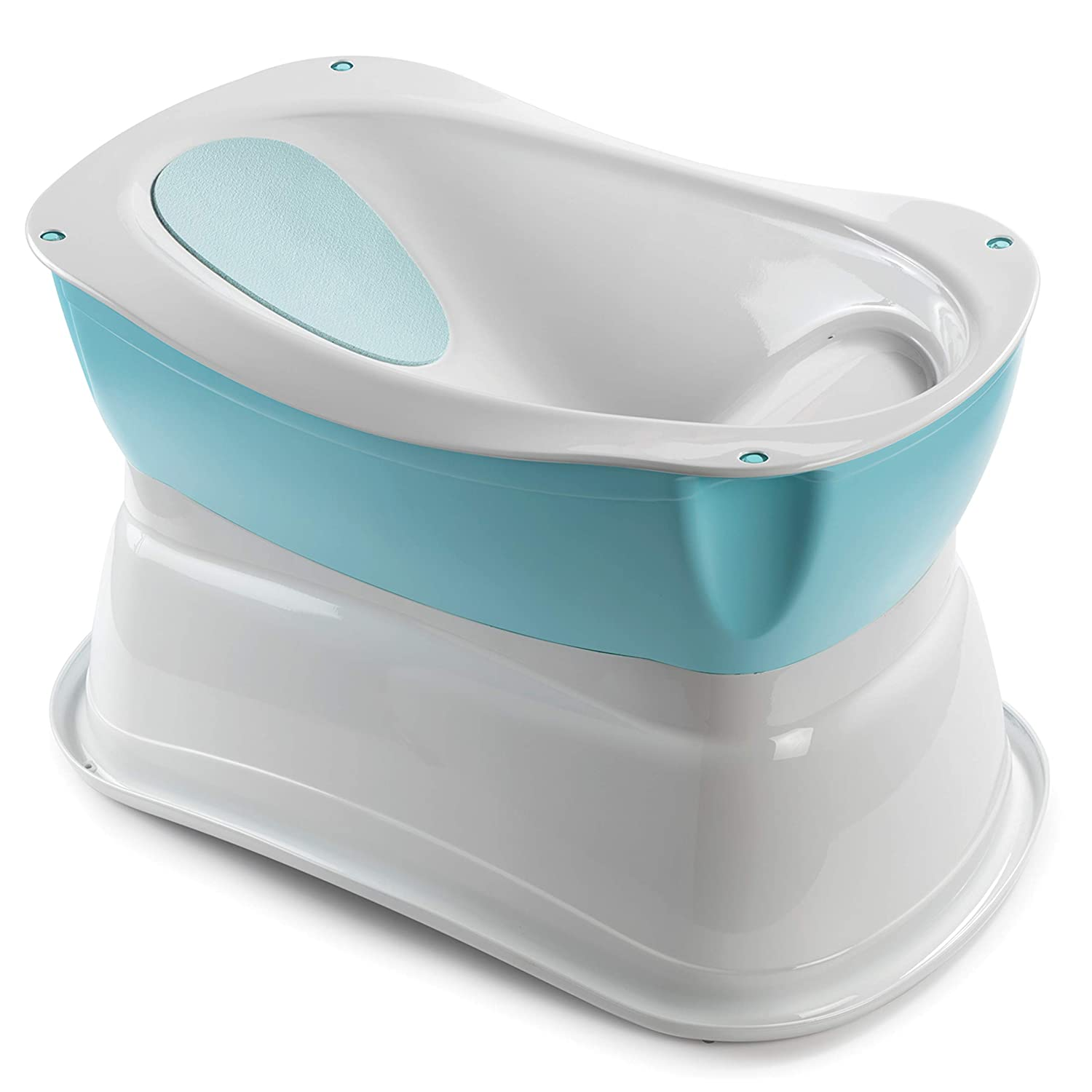 Amazon.com : Summer Infant Right Height Bath Tub, Blue : Baby