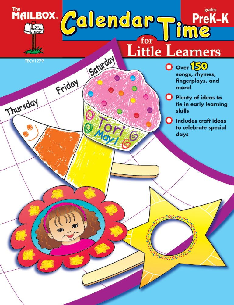 Calendar Time for Little Learners (PreK-K) PDF