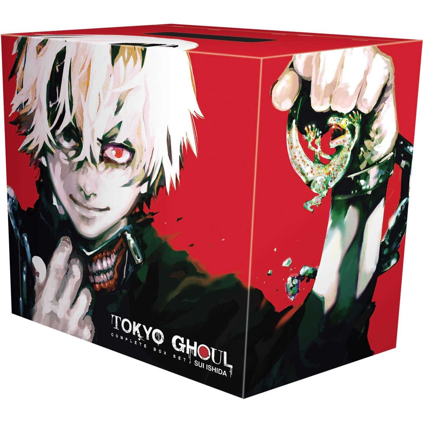 Tokyo Ghoul Complete Box Set: Includes vols. 1-14 with premium by VIZ Media LLC