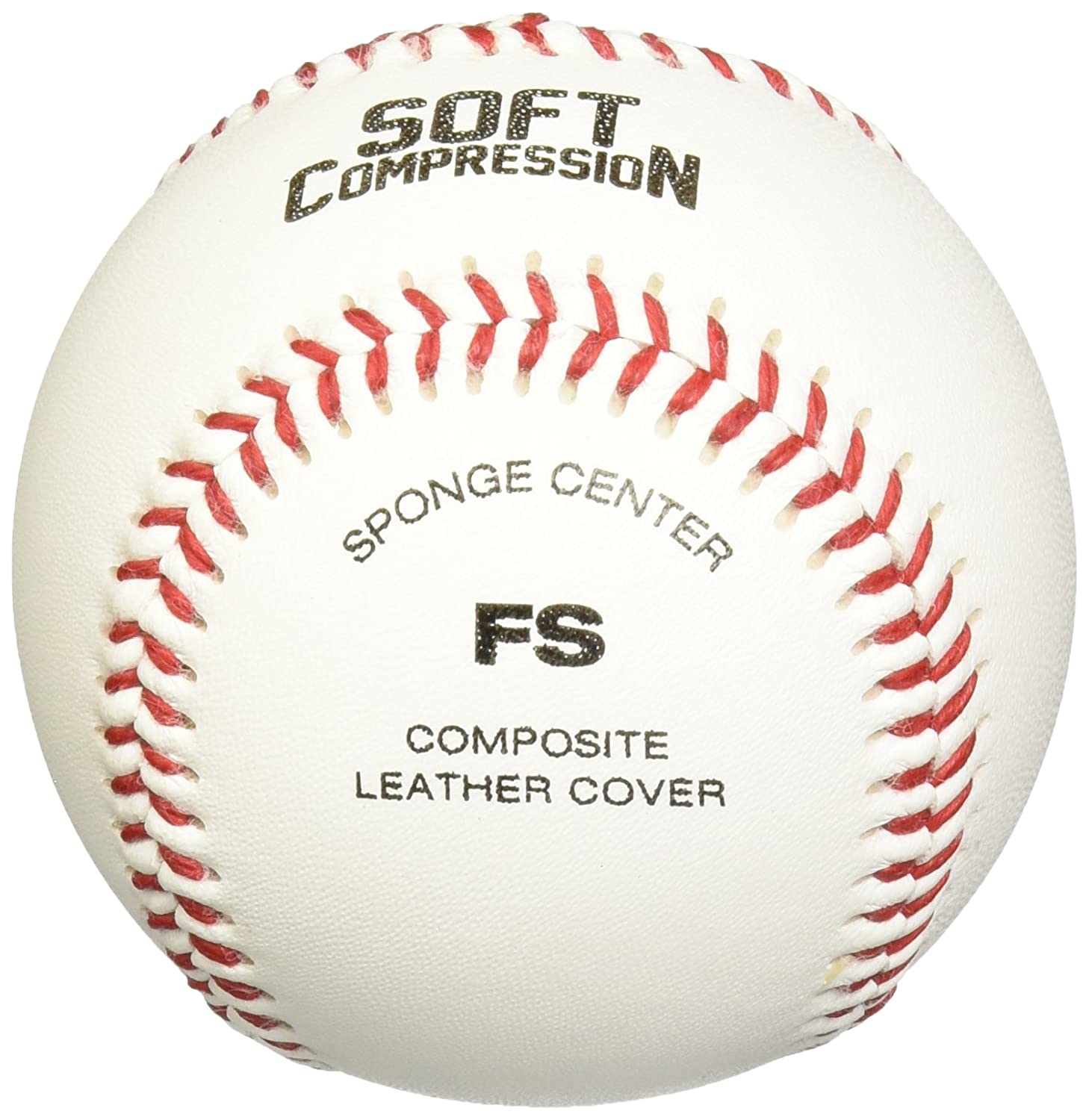 12-Pack White Wilson A1217 Soft Compression Baseball Inch 9