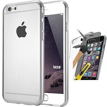 coque silicone et verre trempé iphone 6