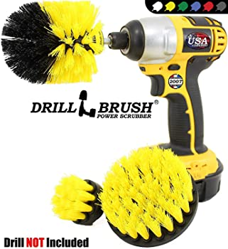 Drillbrush Tile and Grout Power Scrubber Cleaning Kit