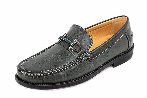 Zapatillas De Estar Por Casa Para Hombre Mocasines Mocasin Inteligentes De Diseño Trabajo Informal Talla Eu 34-40 - Caqui, 8 UK / 42 EU