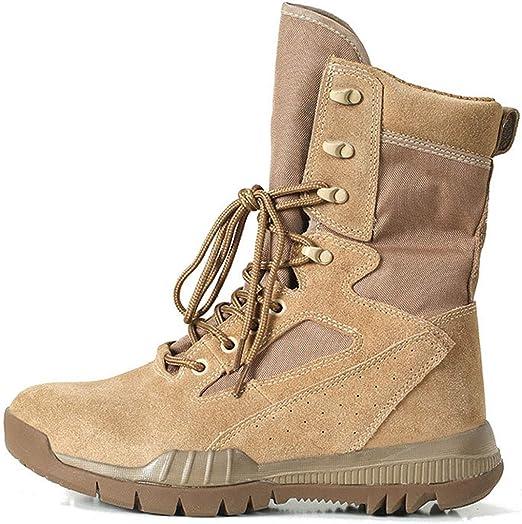 Wangxyan Botas Militares tácticas para Hombres Zapatos Militares ...