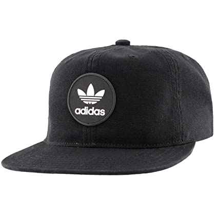 e0202ad000a285 Amazon.com: adidas Men's Originals Trefoil Decon Snapback Cap, Black ...