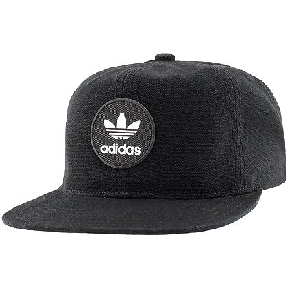 buy online be99a 97d7d adidas Men s Originals Trefoil Decon Snapback Cap, Black, One Size