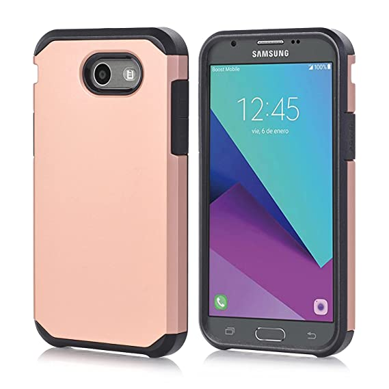 huge selection of b37ff 757a2 Samsun J7 Case for Women,J7 Prime Case Galaxy J7 Perx Case Hybrid J7 V Case  Thin Dual Layer Soft TPU Inner Hard PC Shell Armor Tough Durable Protector  ...