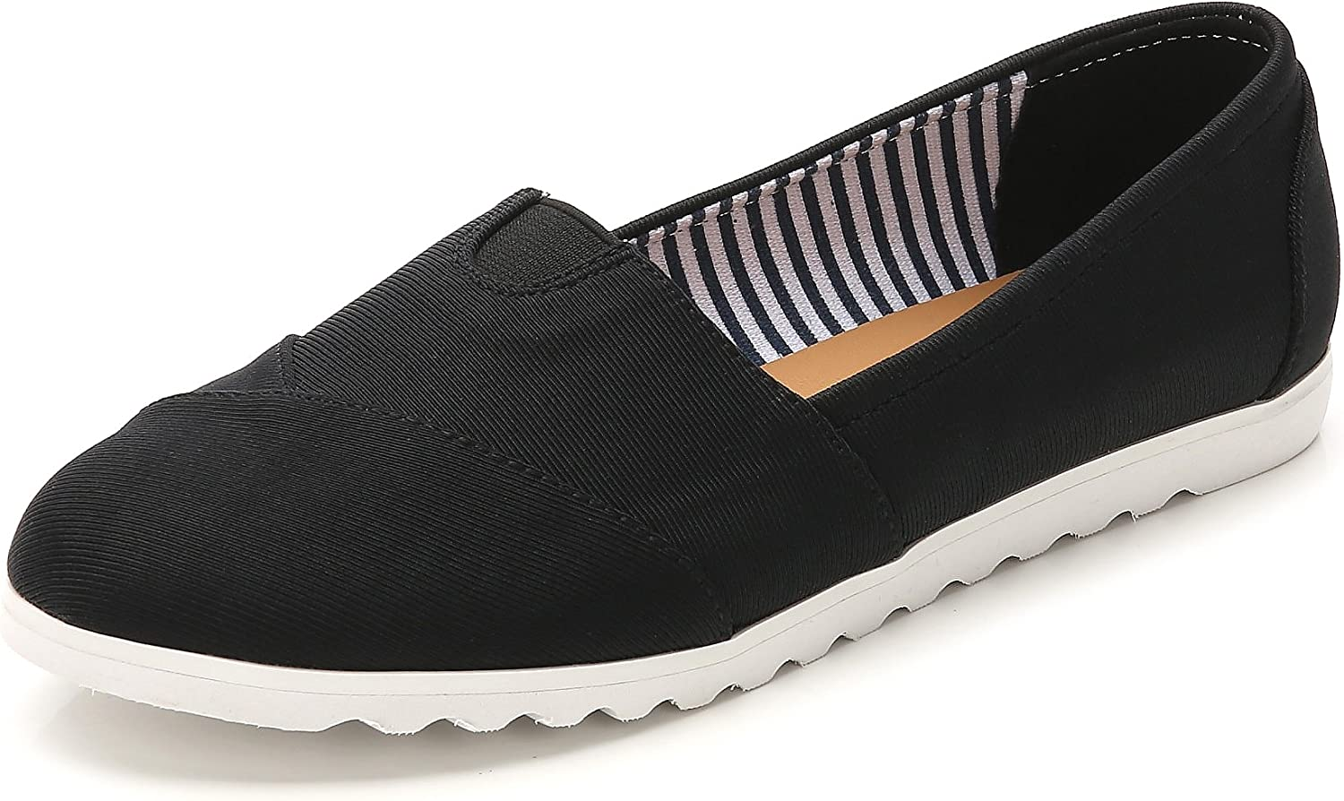 ComeShun Womens Shoes Canvas Flats Casual Loafers Comfort Slip On Sneakers