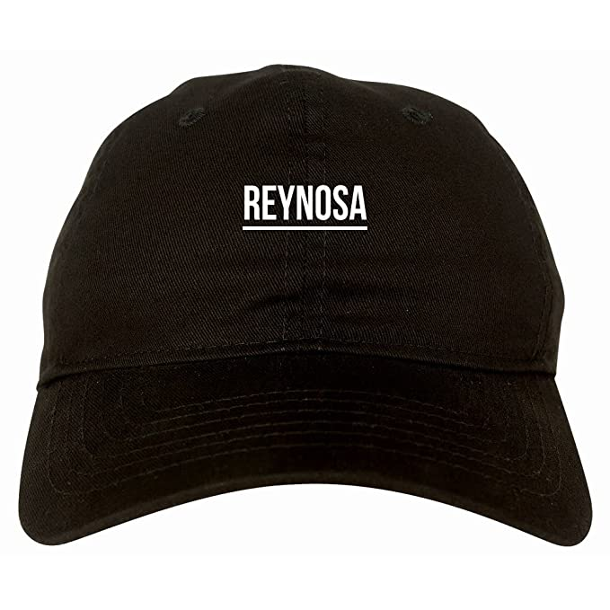 83527689820c Kings Of NY City Of Reynosa Simple Underline 6 Panel Dad Hat Cap Black