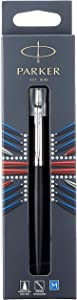 Parker Jotter Bond Street Black CT Ballpoint Pen, Blister pack