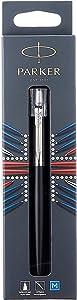 Parker Jotter Bond Street Black CT Ballpoint Pen, Blister pack