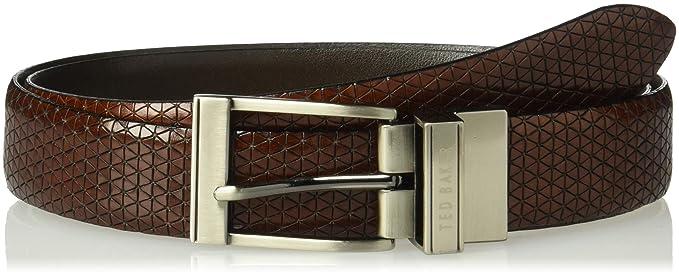 55276bc6f0af7 Ted Baker Men s Tatti Belt  Amazon.co.uk  Clothing