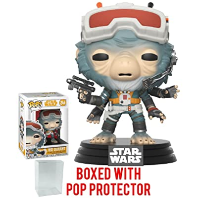 Funko Pop! Star Wars: Solo - Rio Durant Vinyl Figure (Bundled with Pop Box Protector Case): Toys & Games