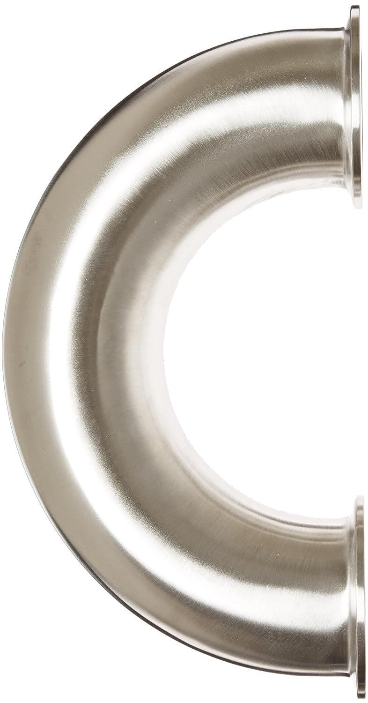 Dixon B2WUMP-R200 Stainless Steel 316L Sanitary Fitting 2 Tube OD 2 Tube OD Dixon Valve /& Coupling Clamp 180 Degree Return Bend