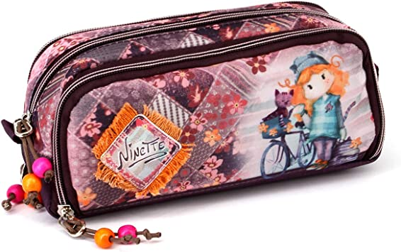 Forever Ninette Bicycle-Estuche Portatodo Note: Amazon.es: Equipaje