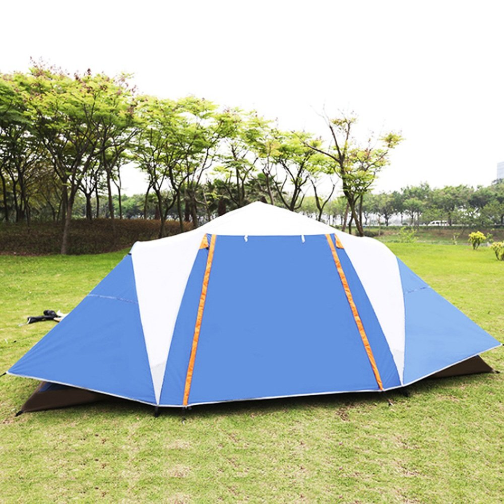 Hochwertiges Zelt - 8-10 Menschen Outdoor Zelt Camping Regen Double ...
