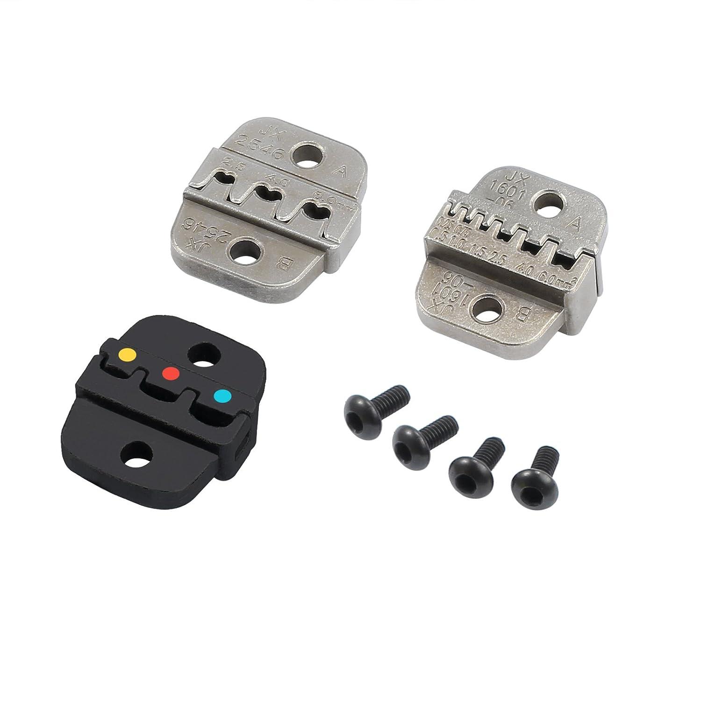 Neoteck Spelafili Multifunzione Pinza Crimpatrice Taglifili per Industria 10-24 AWG Filo Cavo Standard Pinza Spellafili Automatica 0.2-6 mm/²