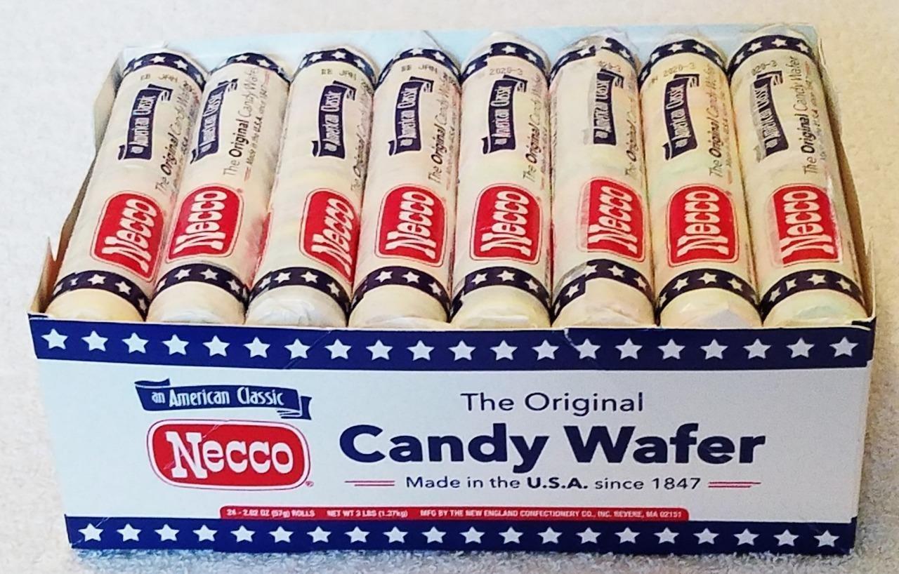 Necco Original Wafer, 2.02-Ounce (Pack of 24)
