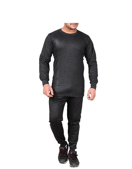 f0d732e2176 Devil Men s Woollen Top Pajama Combo Set (Grey