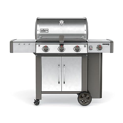 Weber 61004001 Genesis II LX S-340 Liquid Propane Grill, Stainless Steel