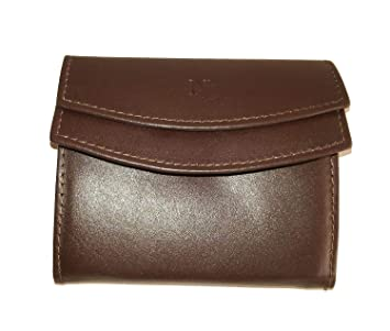 Billetera/Monedero Caballero EN Piel Color Marron (Negro ...