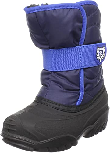 Brand New Kamik Snowbug2 Boys/' Winter Snow Boots-Navy US Size 7 Built in USA