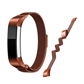 COOSA correa de reemplazo para Fitbit Alta\Fitbit Alta HR, Metal de acero inoxidable reloj correa de reemplazo de la banda para Fitbit Alta fuerte ...