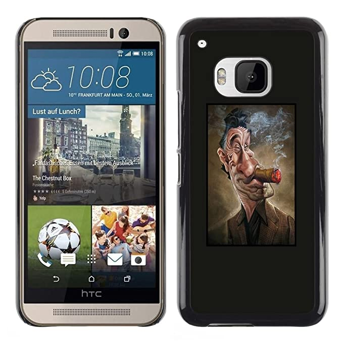 For HTC One (M9)  Case , Actor cigarro que fuma del hombre ...