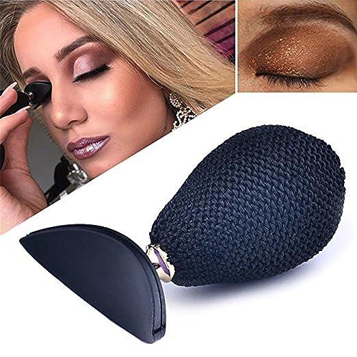 MAANG Eyeshadow Stamp Silicone Lazy Make Up Tool Eye Shadow Applicator Crease 1Pcs (Black)
