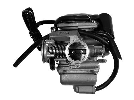 Amazon com: Carburetor GY6 125cc 150cc KAZUMA LIFAN LONGSHEN