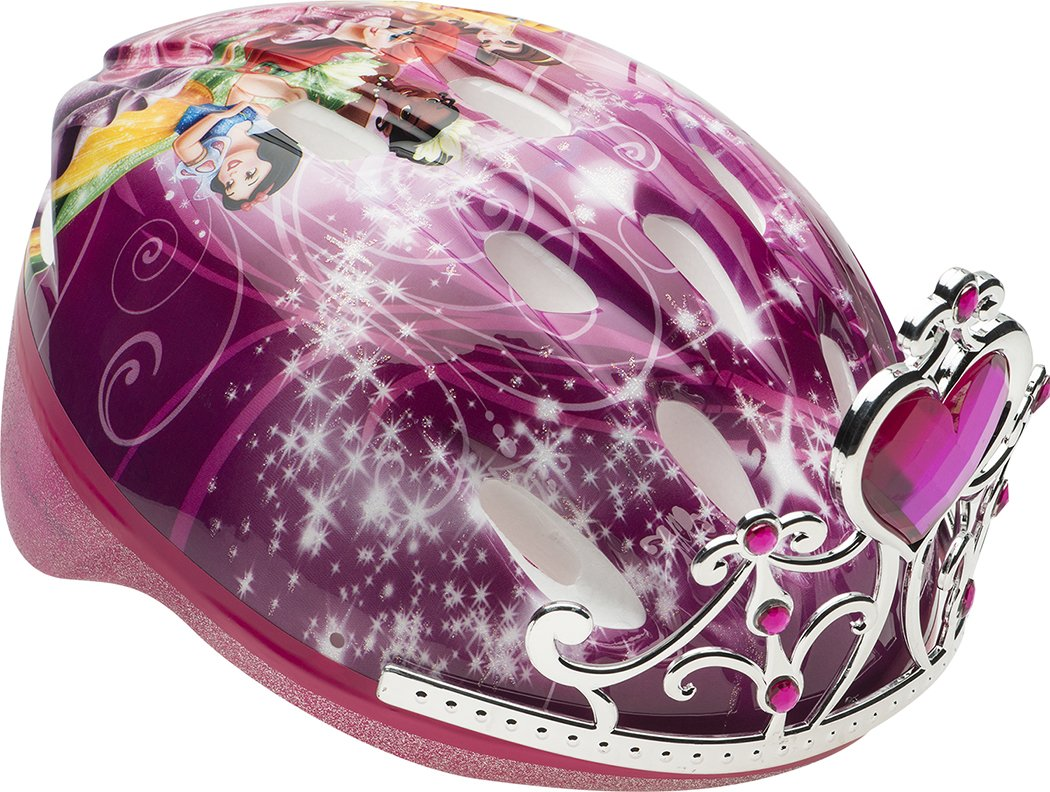 Bell Kids' Princess Bike 3D Tiara Helmet, Multi Coloured, 50-54 cm 7080545