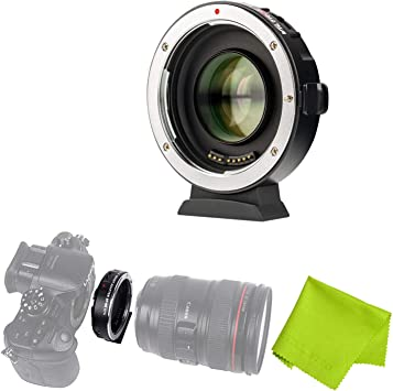 VILTROX EF-M2II AUTO FOCUS LENS ADAPTER 0.71X FOR CANON EOS EF LENS TO MFT M4//3